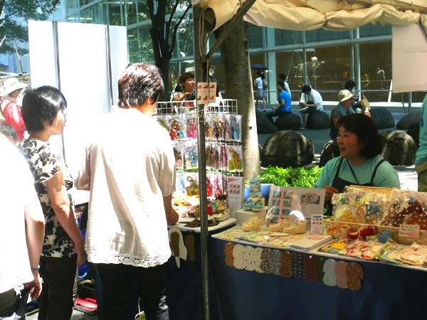 東京国際フォーラム展示風景