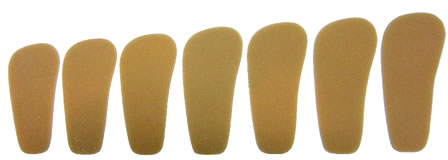 サイズは11cm,11.5cm,12cm,12.5cm,13cm,13.5cm,14cmの7種類